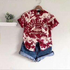 Custom Bleached Grand Canyon T-Shirt